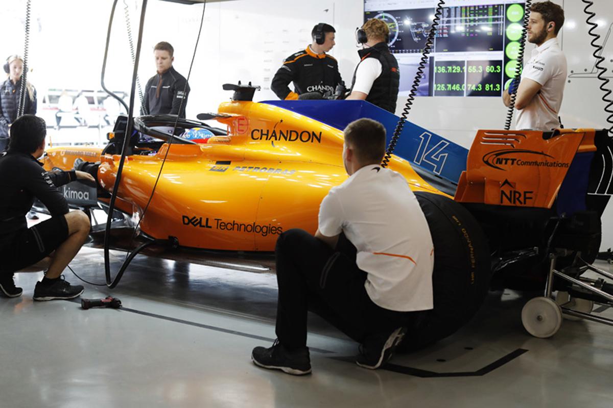 F1 マクラーレン スペイングランプリ 2018年のF1世界選手権