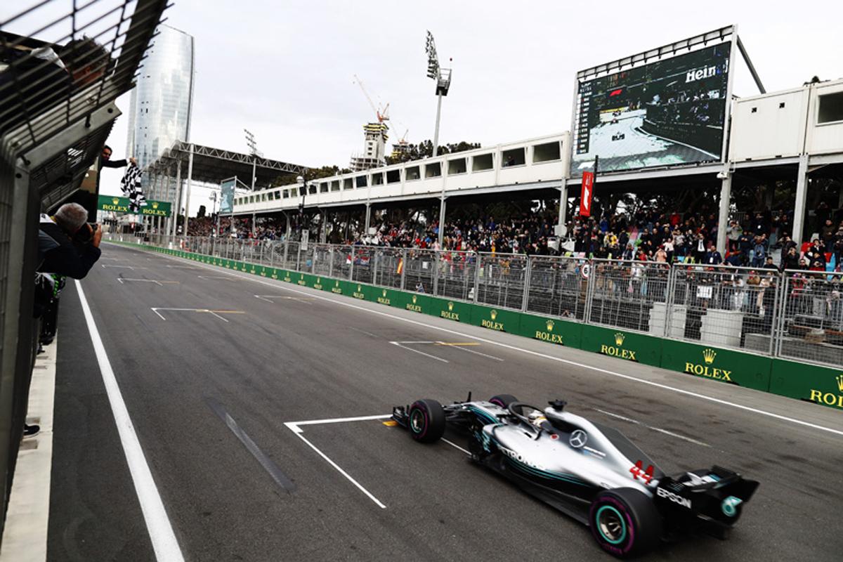 F1 アゼルバイジャンGP 2018年のF1世界選手権