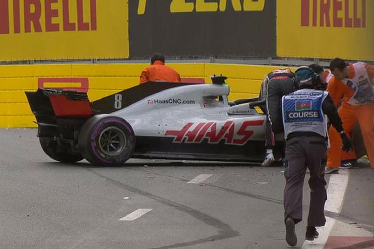 F1 ハースF1チーム ロマン・グロージャン 2018年のF1世界選手権