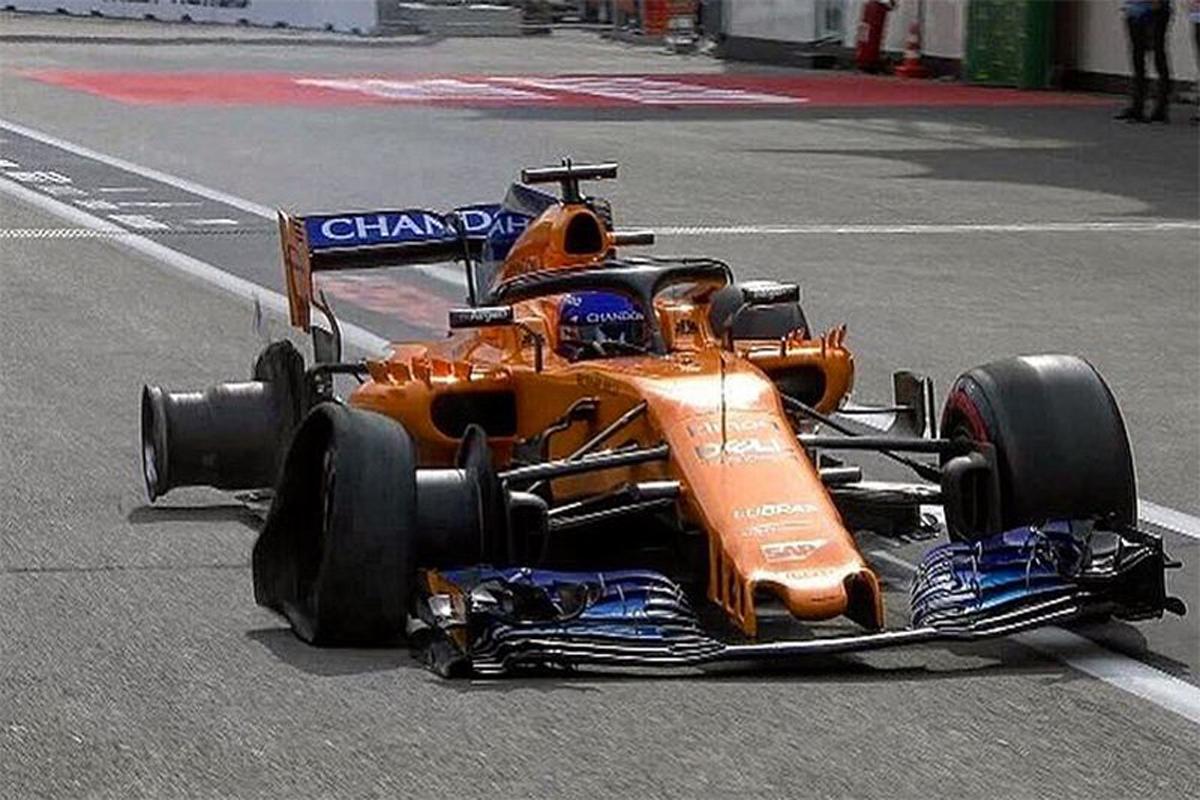 F1 ウィリアムズ フェルナンド・アロンソ アゼルバイジャンGP