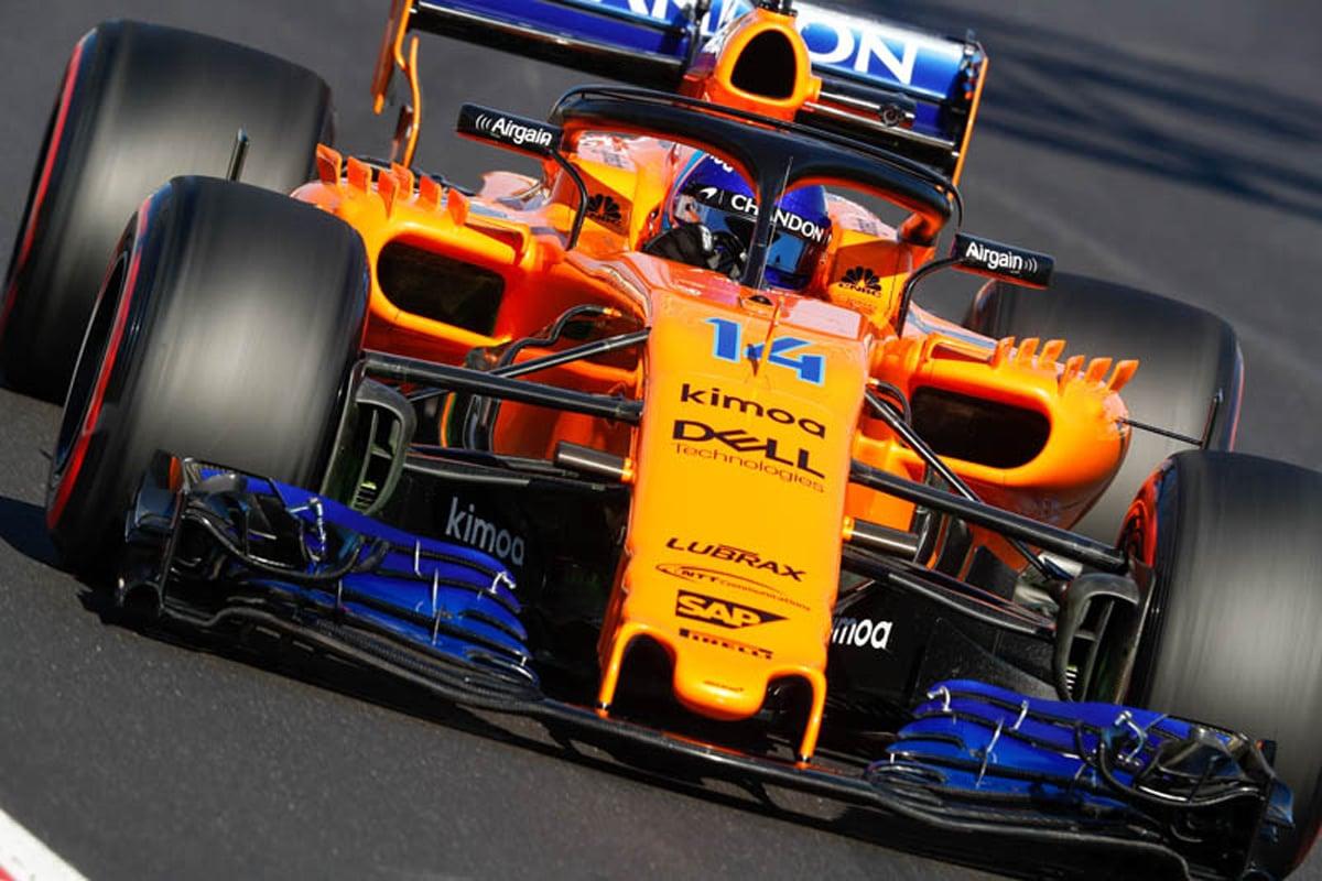 F1 ジェンソン・バトン マクラーレン 2018年のF1世界選手権