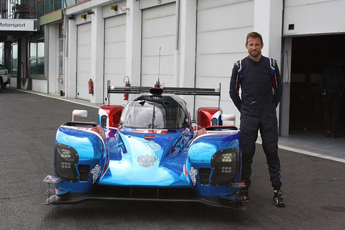 ジェンソン・バトン FIA 世界耐久選手権 ル・マン24時間レース SMPレーシング