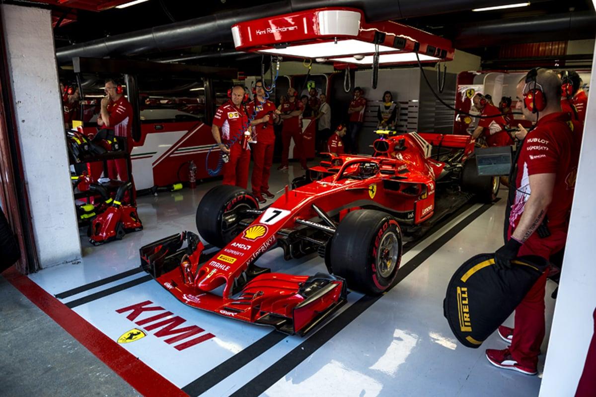 F1 フェラーリ キミ・ライコネン スペイングランプリ 2018年のF1世界選手権