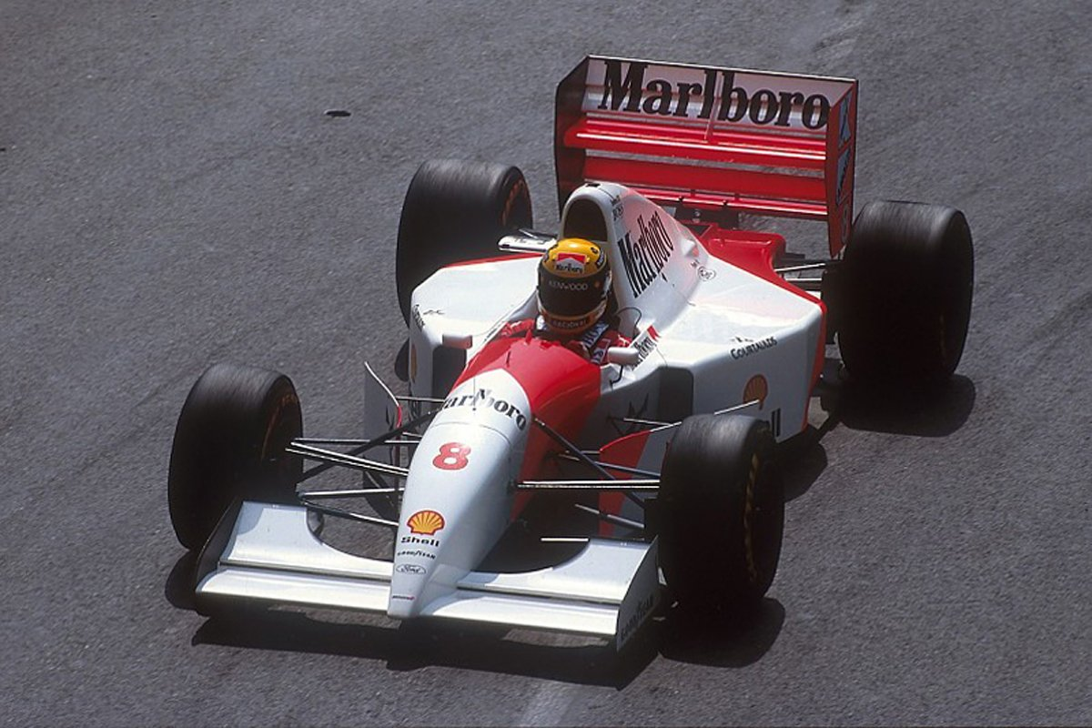 F1 アイルトン・セナ マクラーレン バーニー・エクレストン