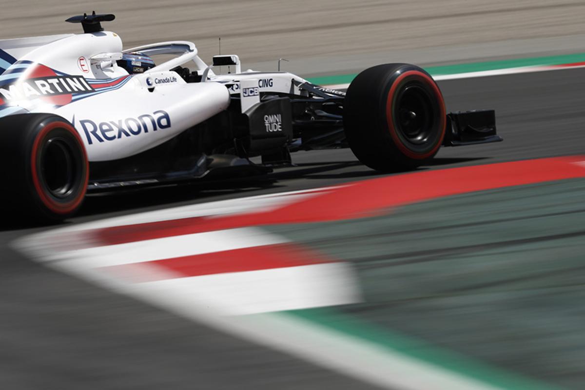F1 ウィリアムズF1 2018年のF1世界選手権