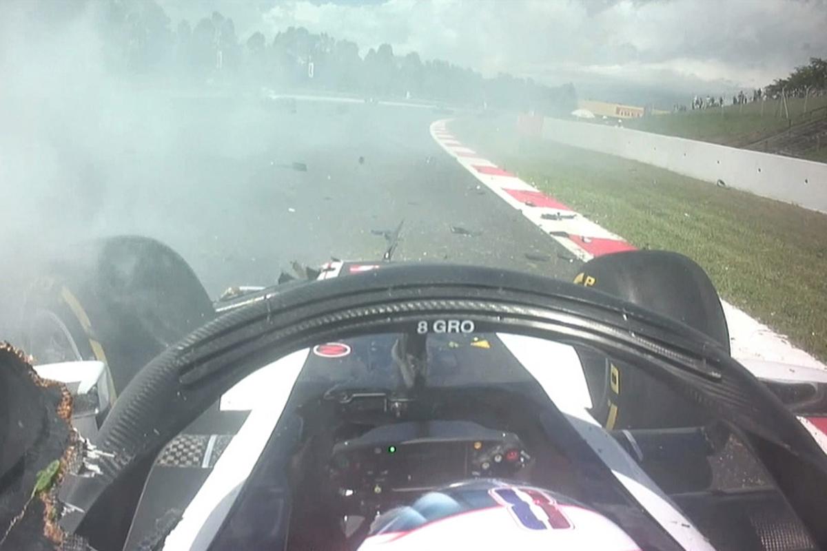 F1 スペイングランプリ ロマン・グロージャン P. ガスリー