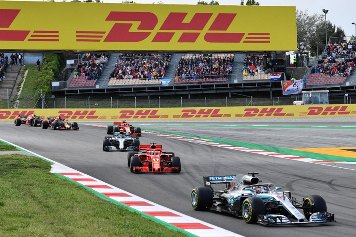 F1 スペイングランプリ L. ハミルトン メルセデスAMG F1 トロロッソ