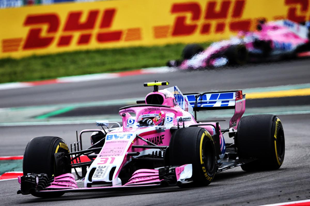 F1 フォース・インディア セルジオ・ペレス スペイングランプリ