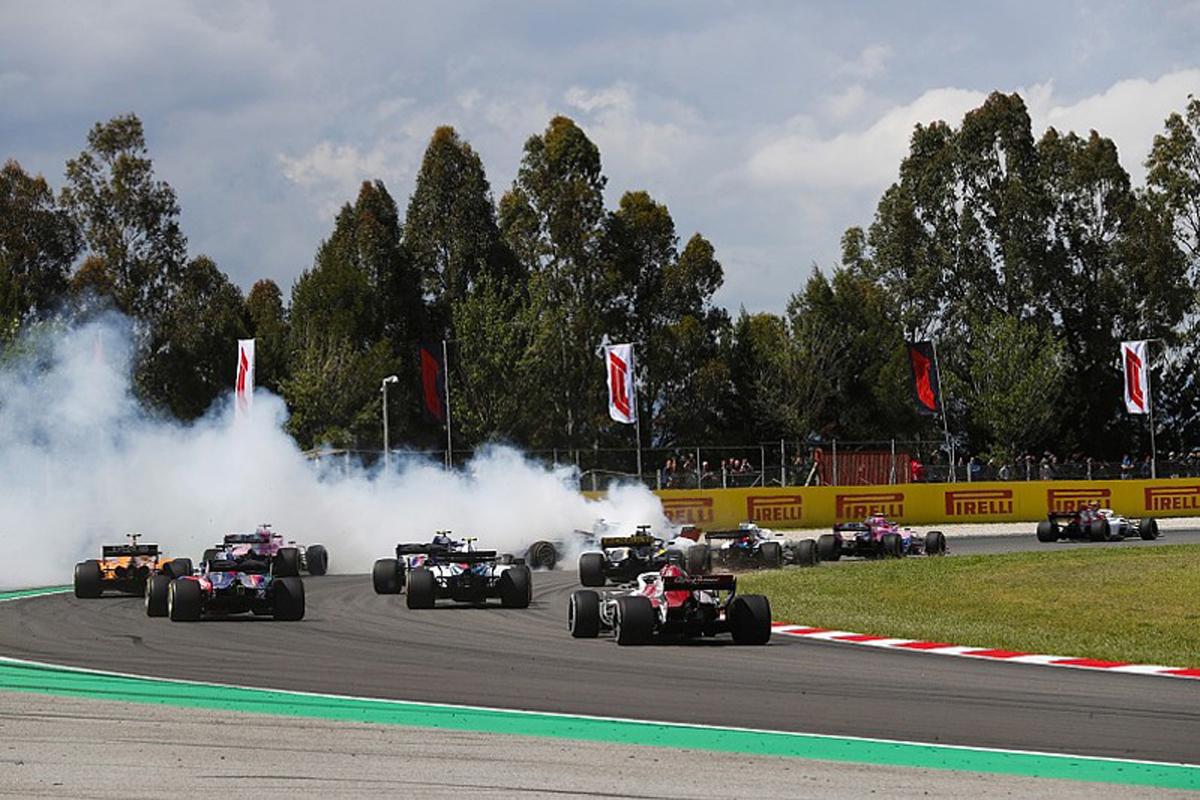 F1 ロマン・グロージャン スペイングランプリ P. ガスリー N. ヒュルケンベルグ