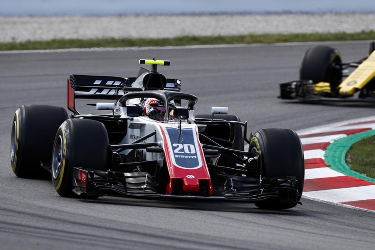 F1 ハースF1チーム ケビン・マグヌッセン スペイングランプリ
