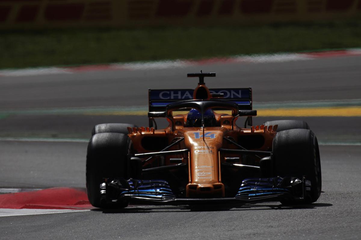F1 マクラーレン フェルナンド・アロンソ スペイングランプリ