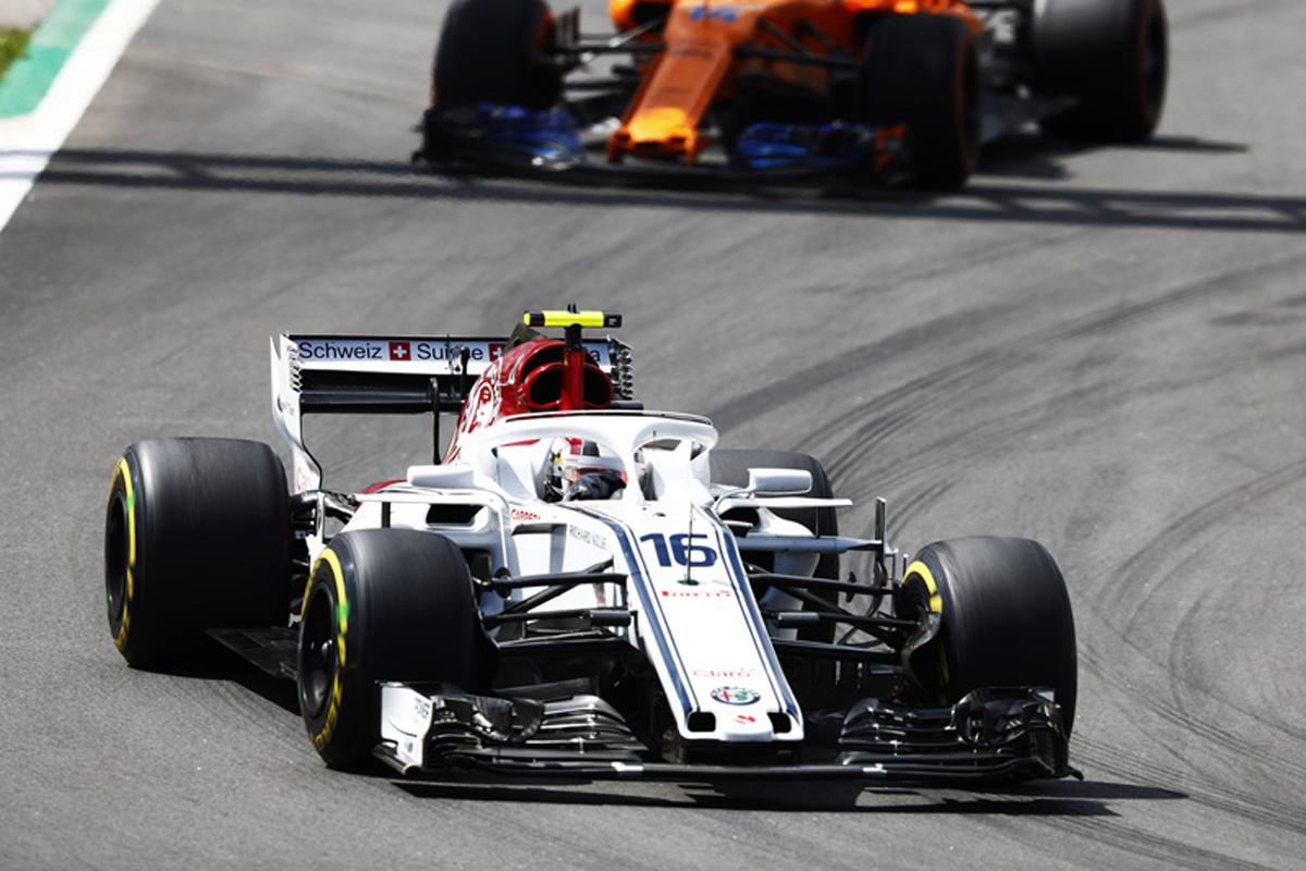 F1 ザウバー シャルル・ルクレール スペイングランプリ