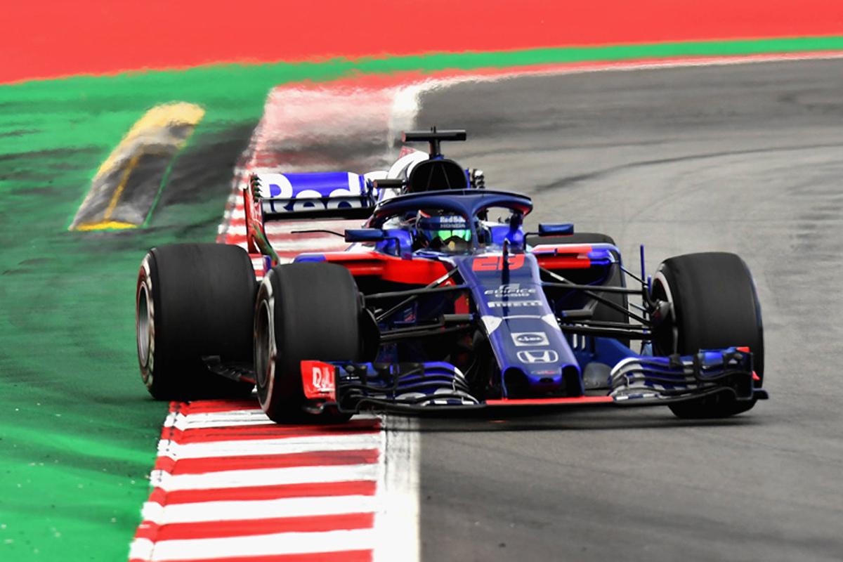 F1 トロロッソ スペイングランプリ P. ガスリー B. ハートレー ホンダF1