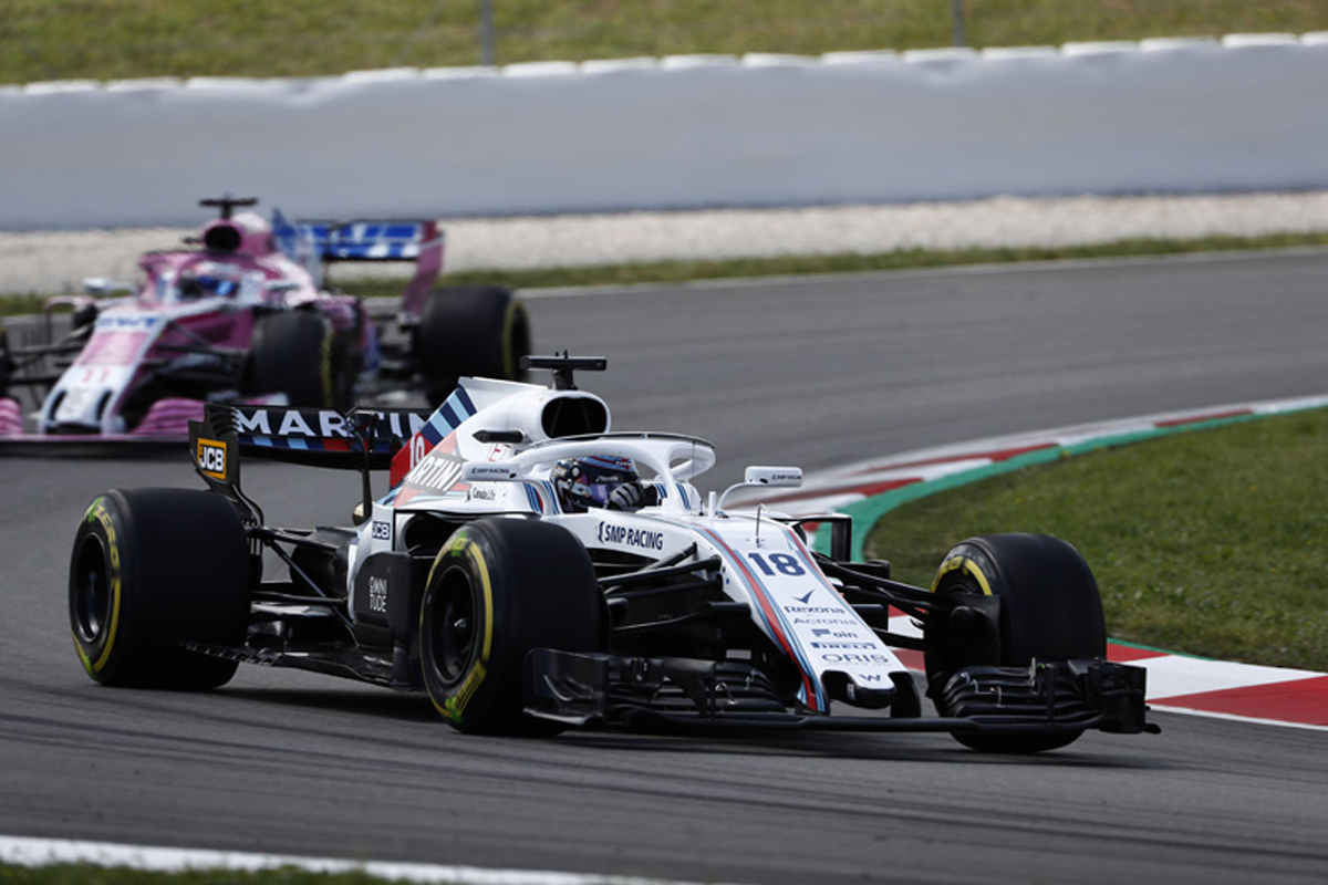 F1 ウィリアムズF1 スペイングランプリ