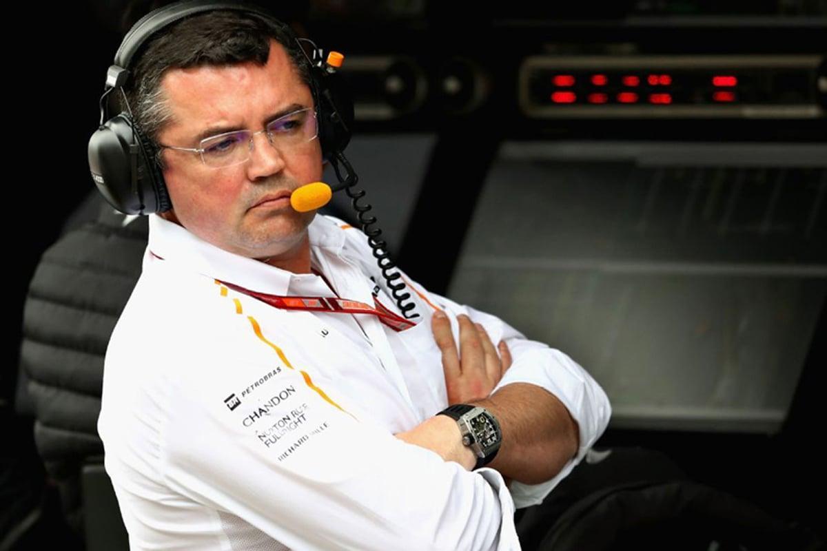 F1 マクラーレン エリック・ブーリエ 2018年のF1世界選手権