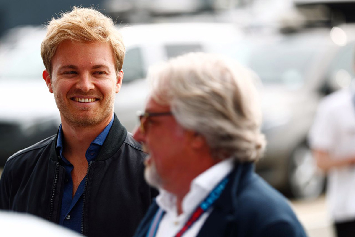 F1 ニコ・ロズベルグ ケケ・ロズベルグ モナコグランプリ