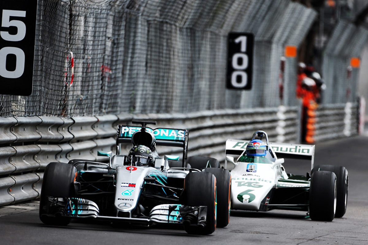 F1 ニコ・ロズベルグ ケケ・ロズベルグ モナコグランプリ モンテカルロ市街地コース