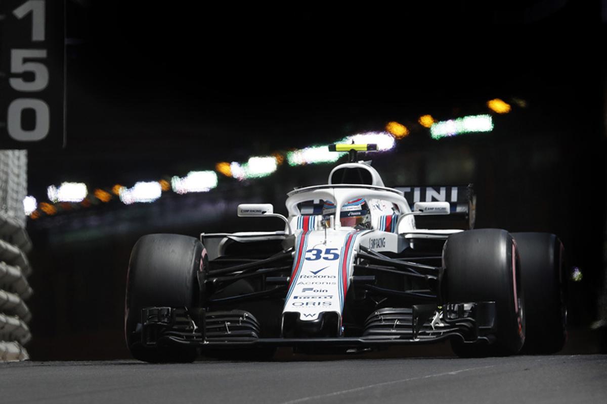 F1 ウィリアムズF1 モナコグランプリ 2018年のF1世界選手権
