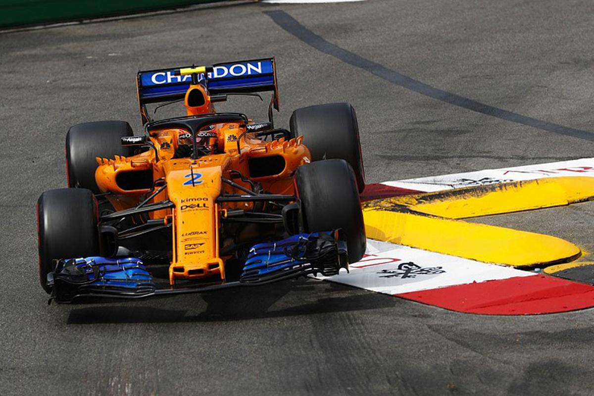 F1 ストフェル・バンドーン マクラーレン モナコグランプリ 2018年のF1世界選手権