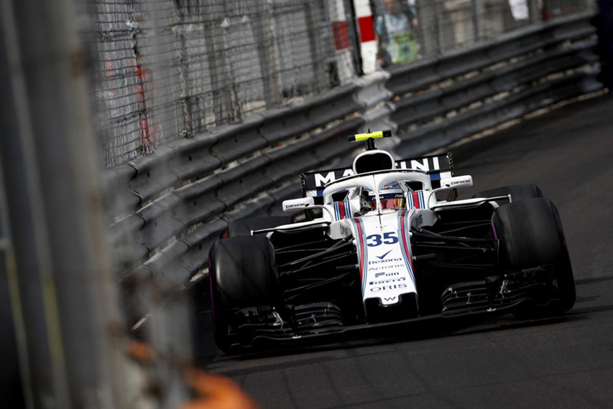 F1 ウィリアムズ モナコグランプリ 2018年のF1世界選手権