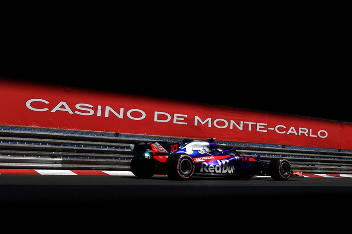 F1 トロロッソ・ホンダ モナコグランプリ P. ガスリー トロロッソ