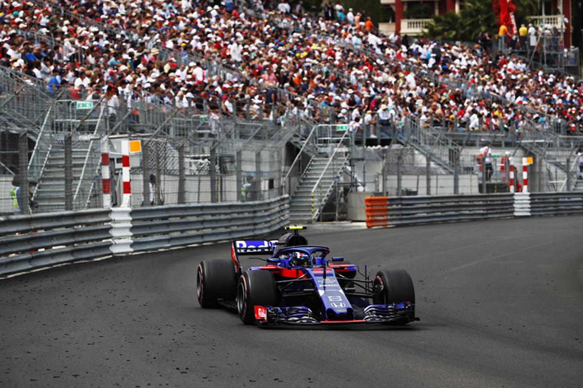 F1 トロロッソ・ホンダ ピエール・ガスリー モナコグランプリ トロロッソ ホンダF1
