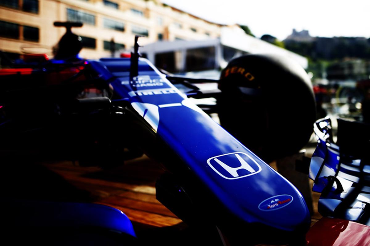 F1 ホンダF1 トロロッソ・ホンダ ピエール・ガスリー ブレンドン・ハートレー