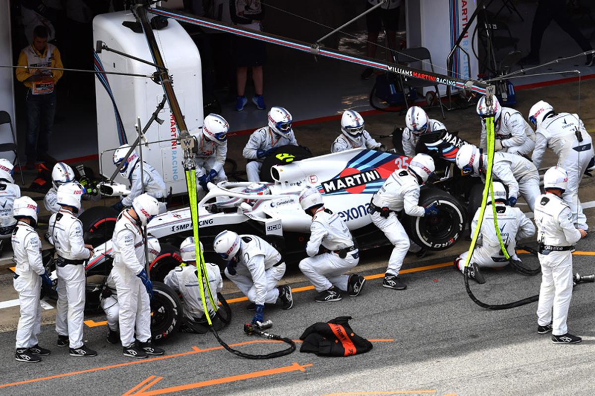 F1 ウィリアムズF1 ディルク・デ・ビア
