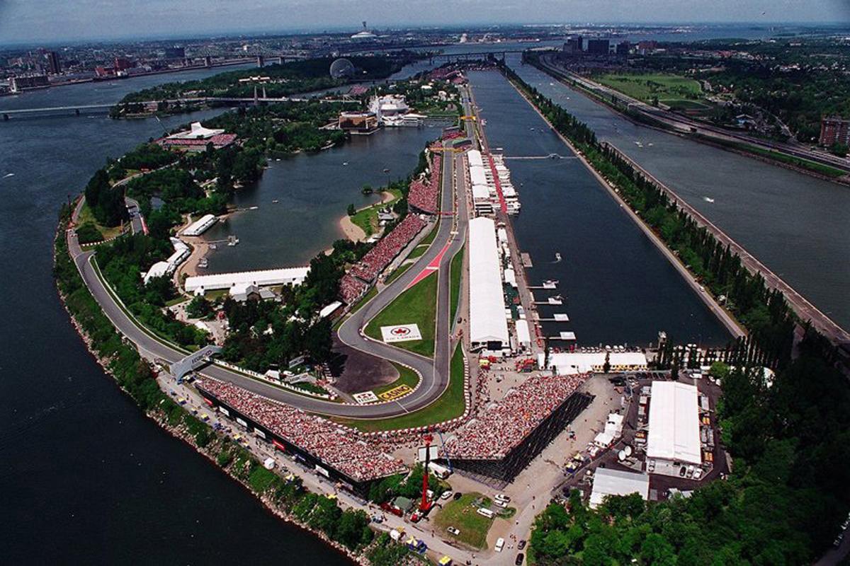 F1 カナダグランプリ 2018年のF1世界選手権 ジル・ヴィルヌーヴ・サーキット F1カナダGP