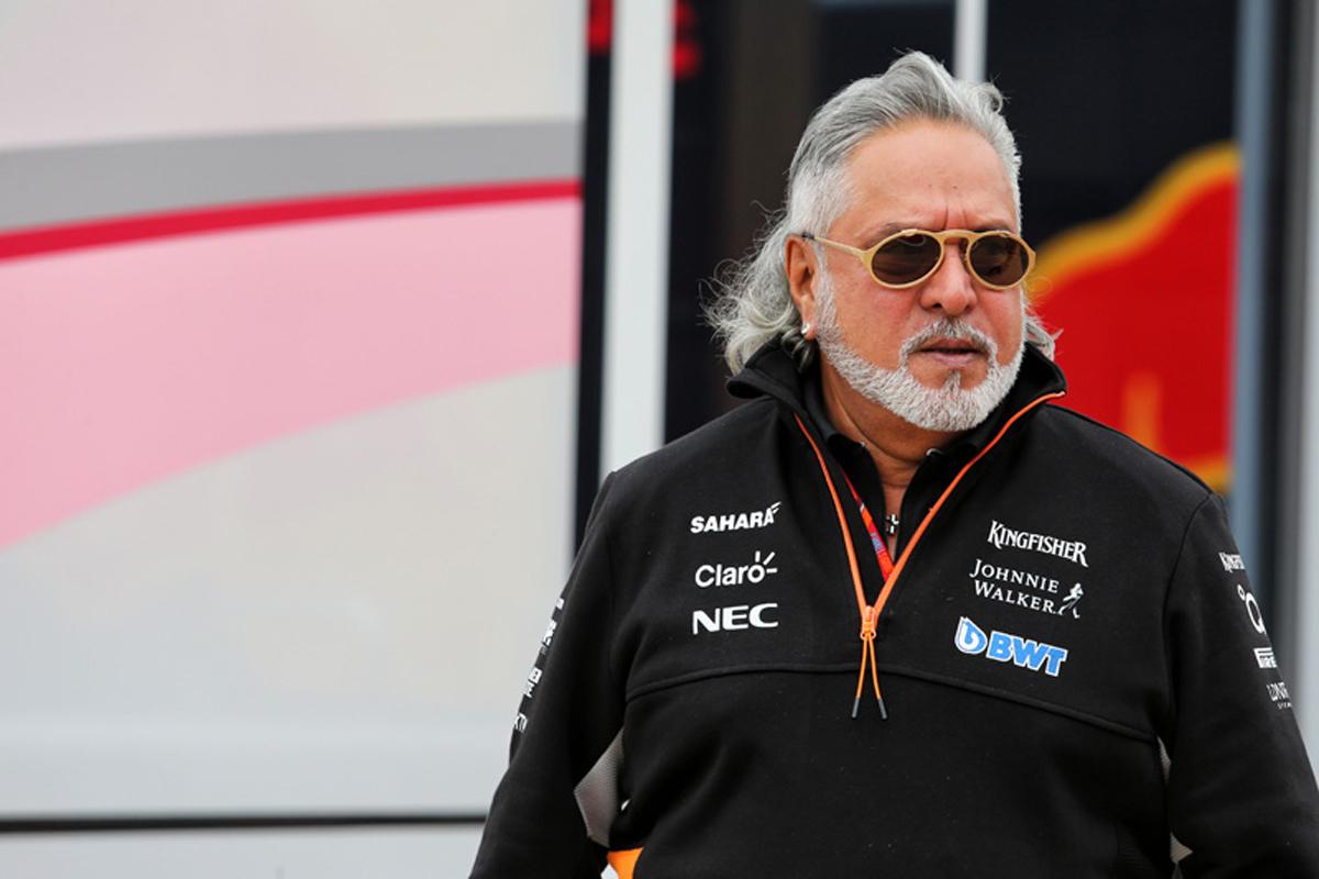 F1 フォース・インディア ビジェイ・マリヤ