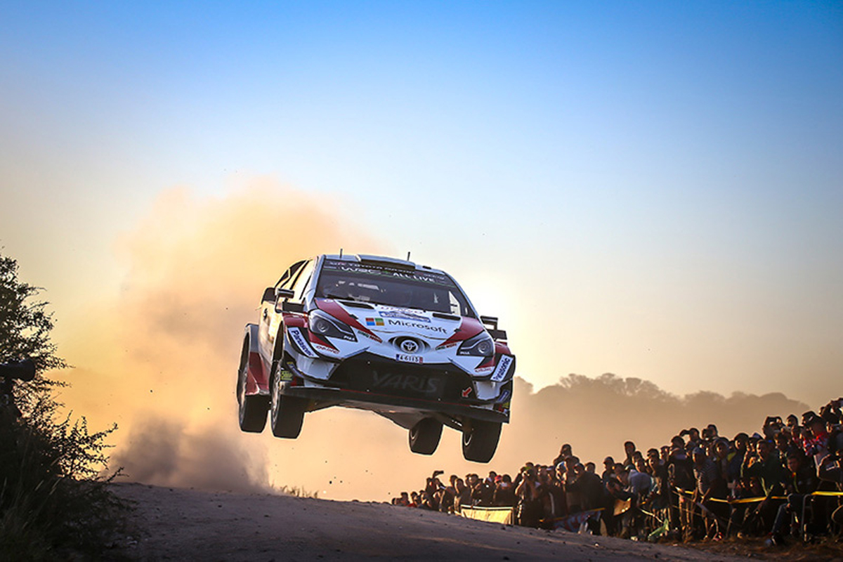WRC ラリー・イタリア・サルディニア トヨタ自動車 2018年の世界ラリー選手権