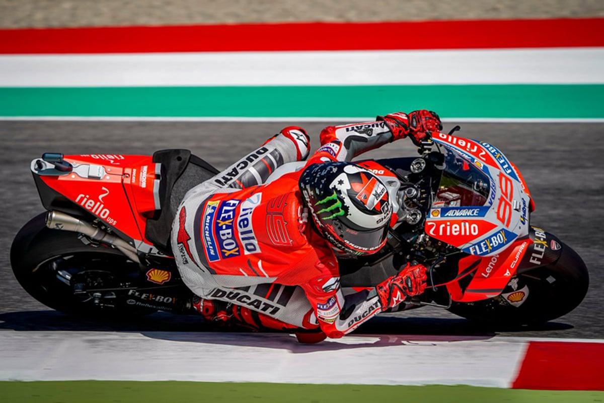 MotoGP イタリアグランプリ ホルヘ・ロレンソ ドゥカティ