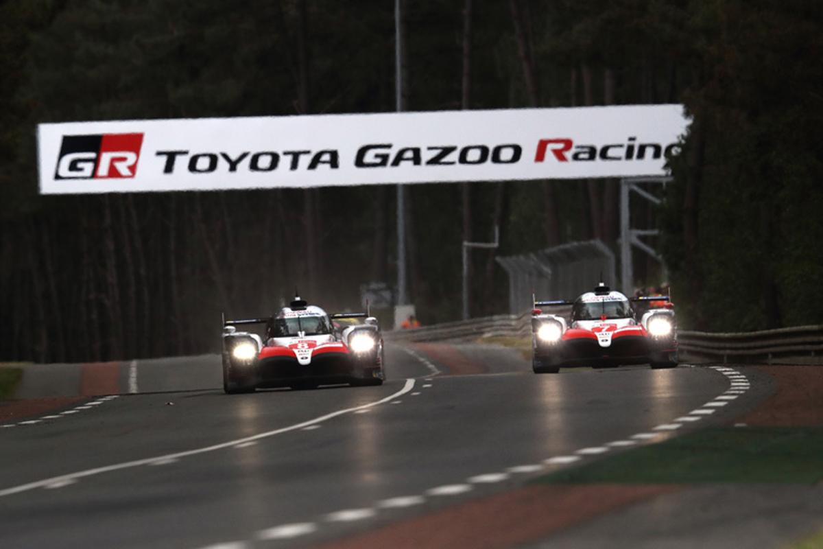 ル・マン24時間レース フェルナンド・アロンソ TOYOTA GAZOO Racing
