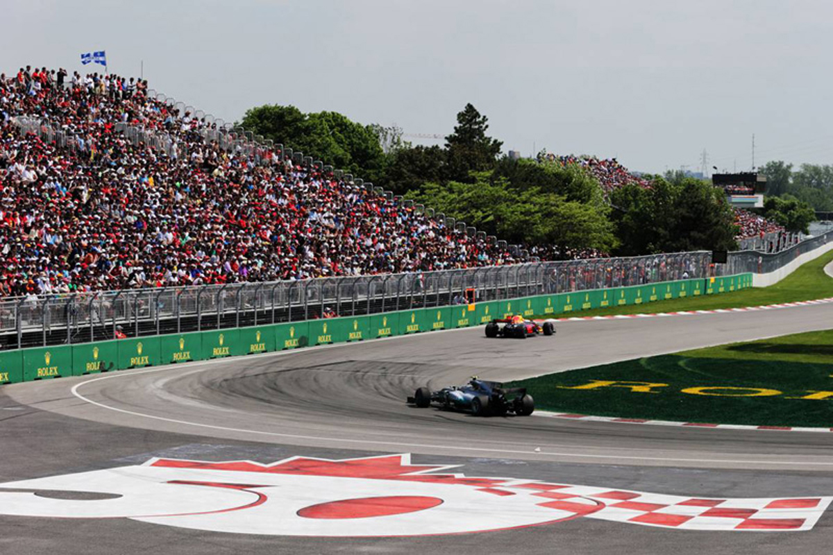 F1 カナダグランプリ ジル・ヴィルヌーヴ・サーキット 国際自動車連盟