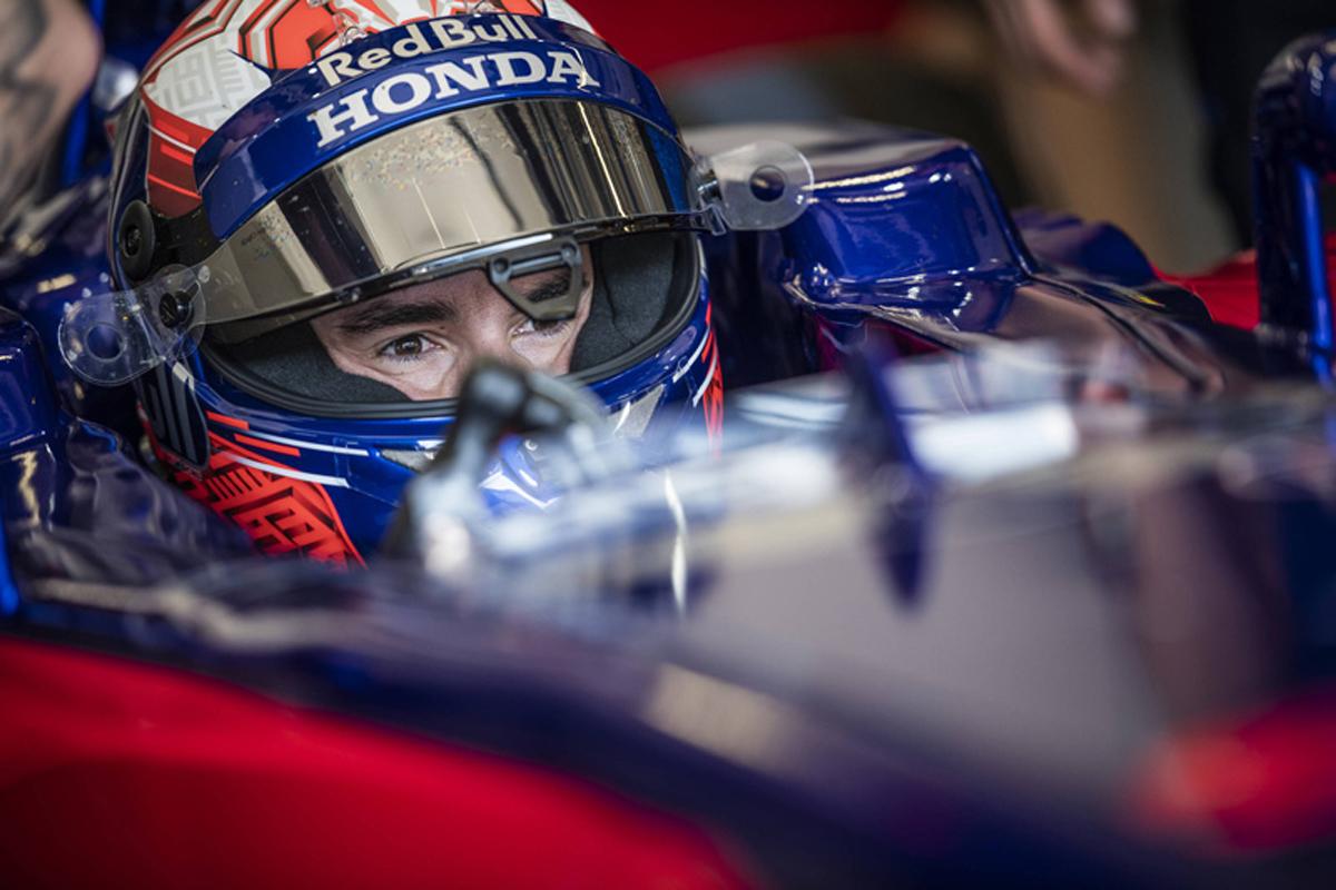 マルク・マルケス、トロロッソ・ホンダ仕様のマシンでF1初走行(ギャラリー)