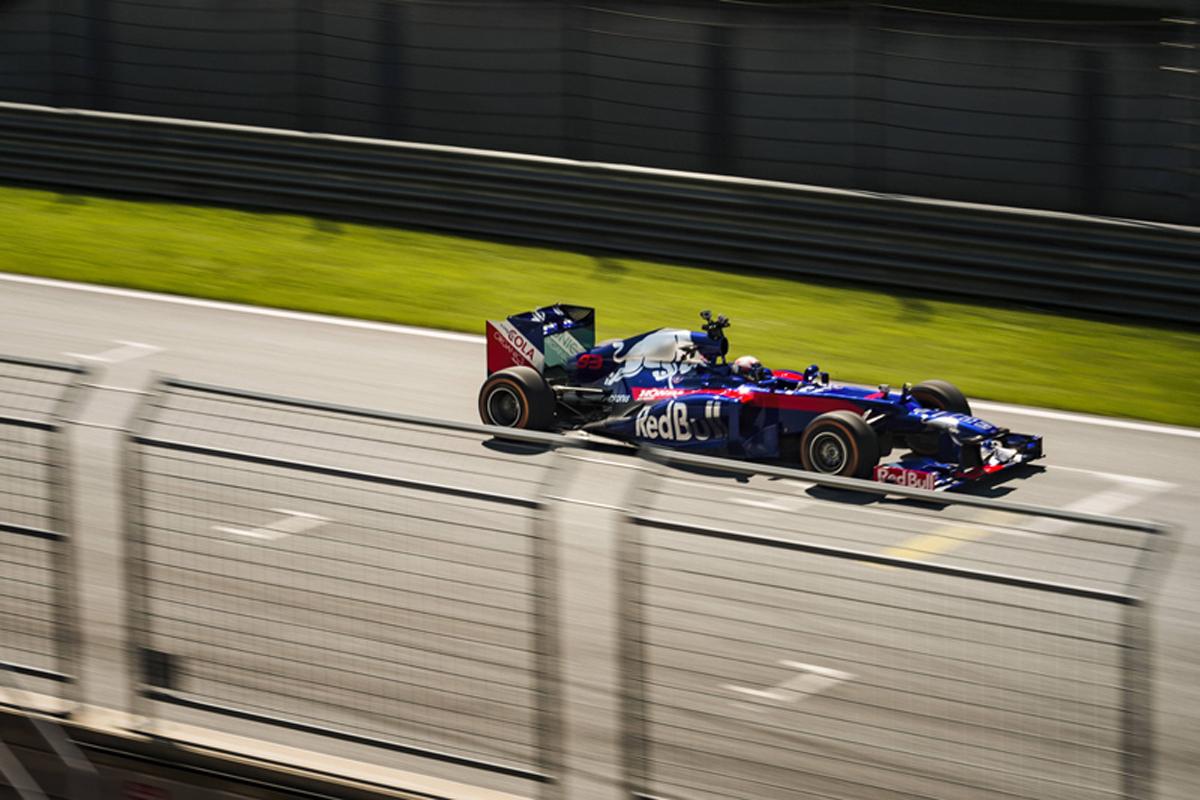 マルク・マルケス、トロロッソ・ホンダ仕様のマシンでF1初走行(写真11)