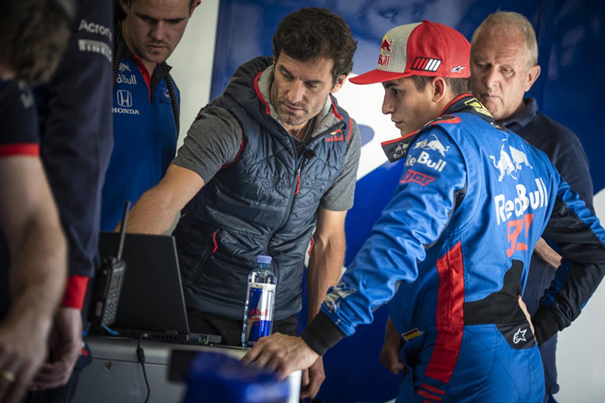 マルク・マルケス F1 MotoGP マーク・ウェバー