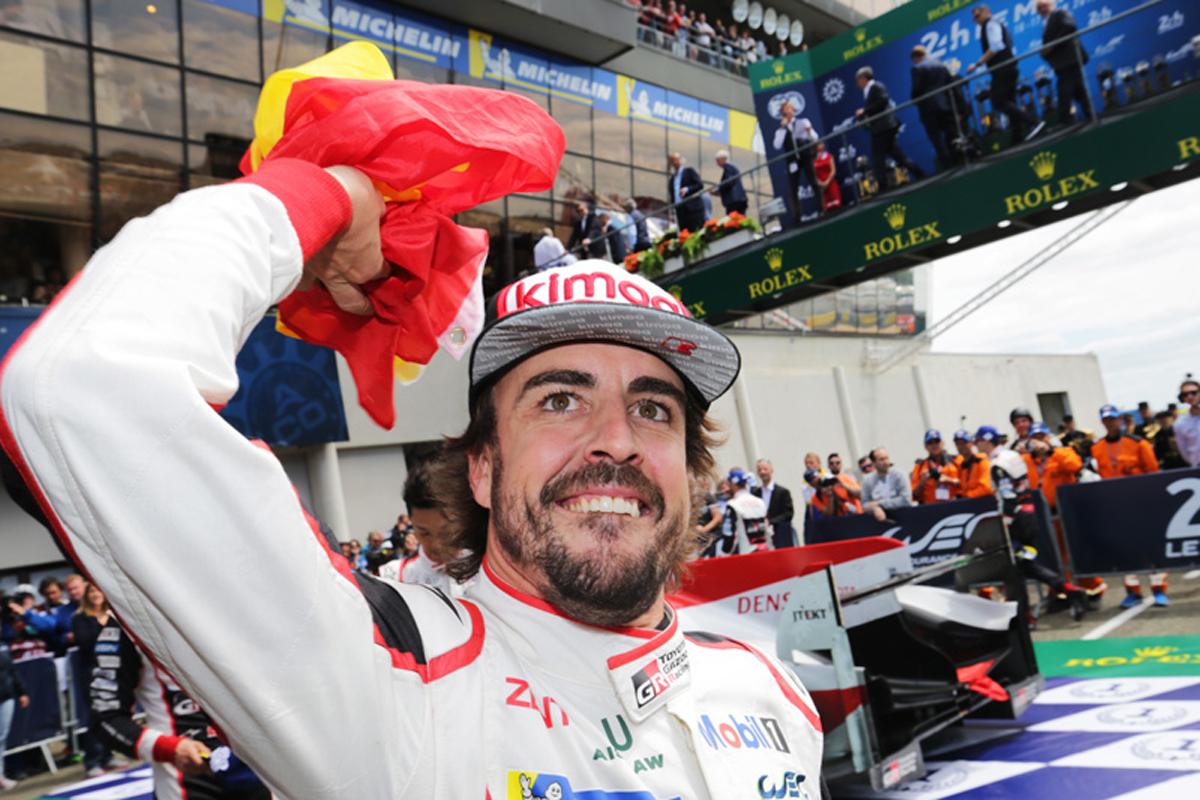 フェルナンド・アロンソ ル・マン24時間レース F1
