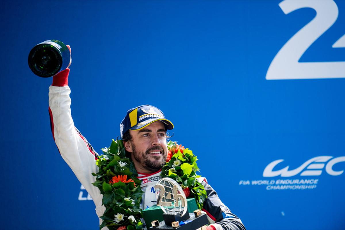フェルナンド・アロンソ ル・マン24時間レース トヨタ