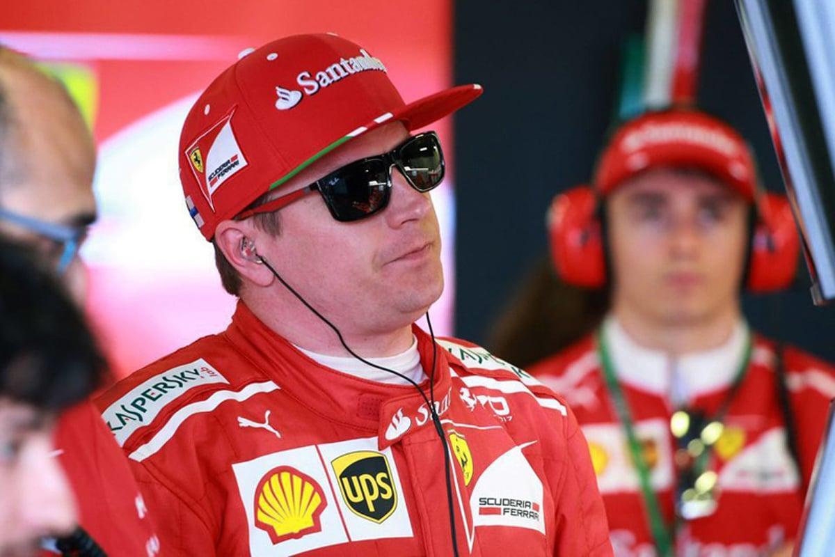 F1 フェラーリ キミ・ライコネン シャルル・ルクレール