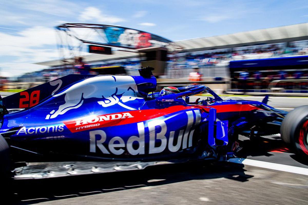 F1 ホンダF1 ブレンドン・ハートレー トロロッソ・ホンダ フランスGP