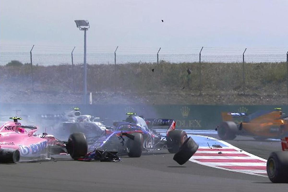 F1 ピエール・ガスリー トロロッソ・ホンダ フランスグランプリ