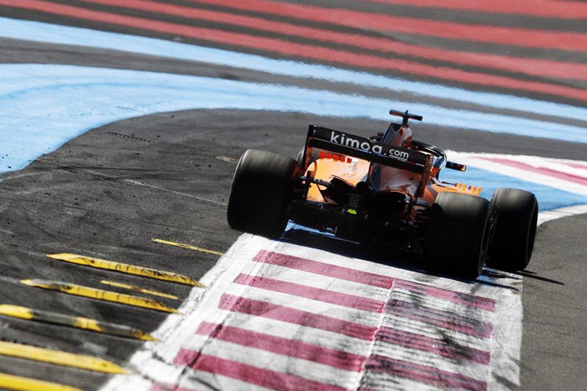 F1 フェルナンド・アロンソ マクラーレン フランスグランプリ 2018年のF1世界選手権