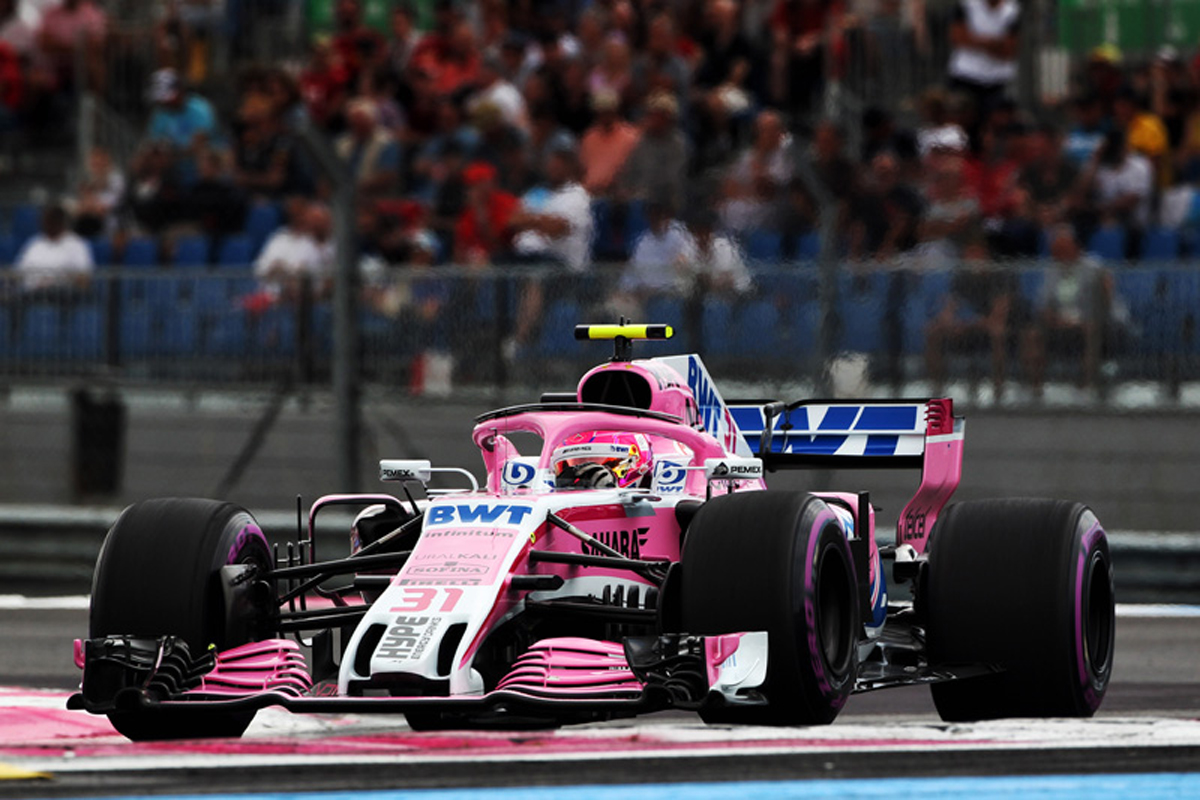 F1 フォース・インディア フランスグランプリ 2018年のF1世界選手権