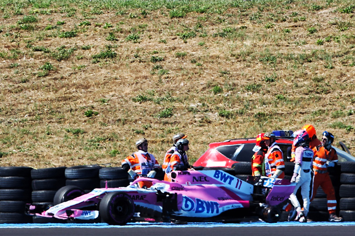 F1 フォース・インディア セルジオ・ペレス フランスGP