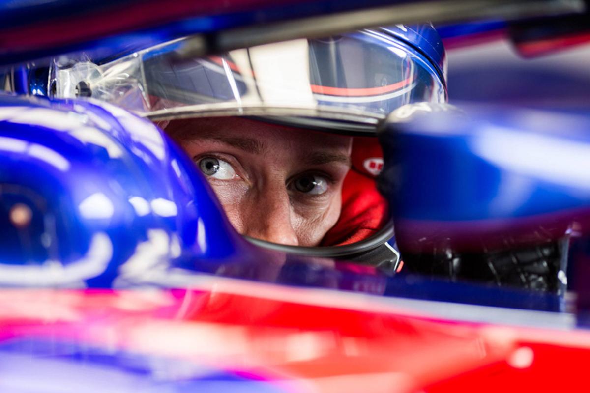 F1 トロロッソ・ホンダ ブレンドン・ハートレー フランスGP