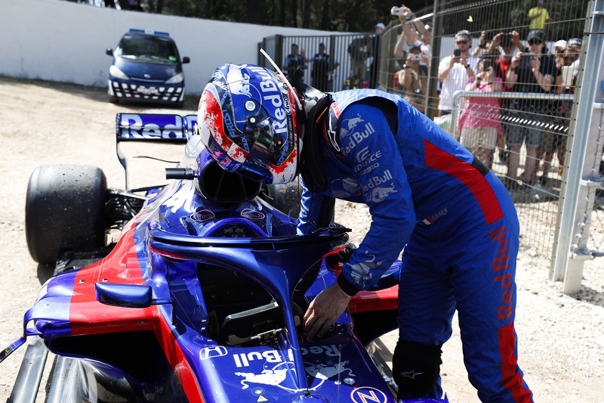 F1 ピエール・ガスリー エステバン・オコン フランスGP