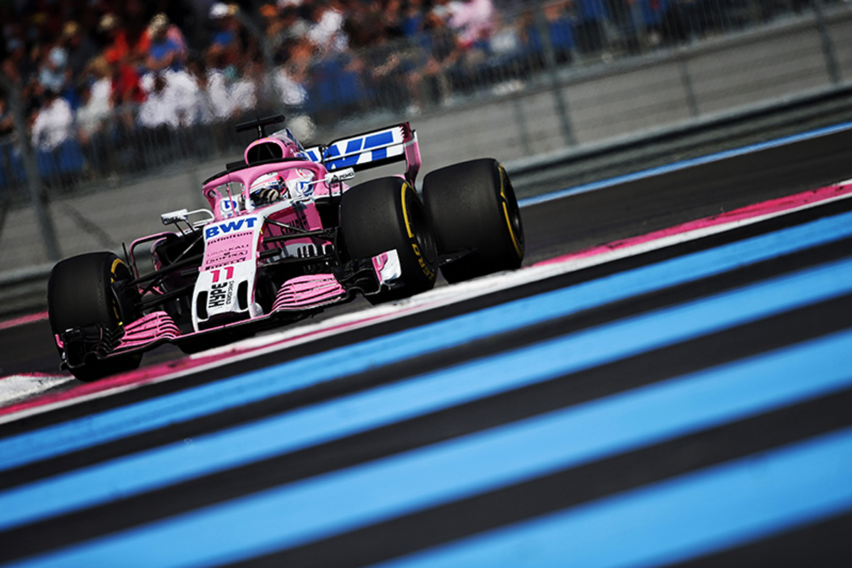 F1 フォース・インディア フランスグランプリ