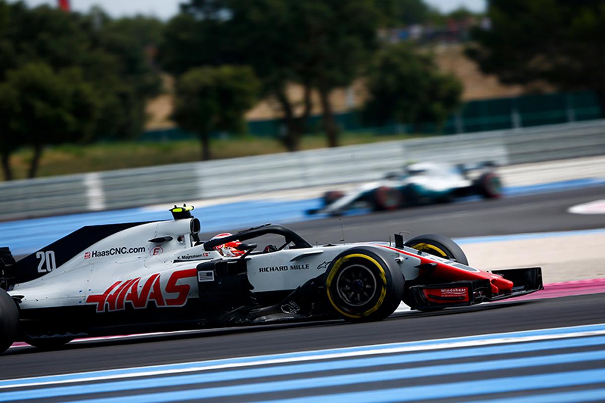 F1 ハースF1チーム フランスグランプリ