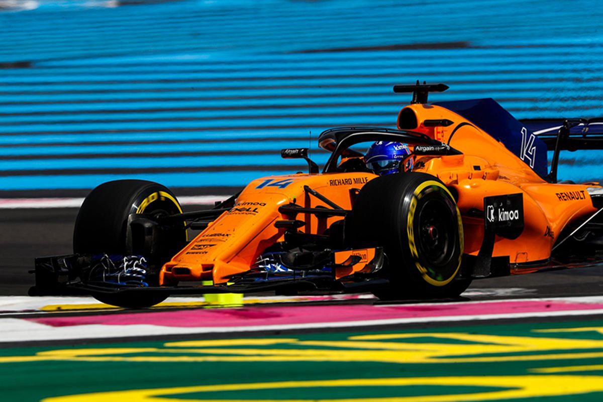 F1 マクラーレン フランスGP
